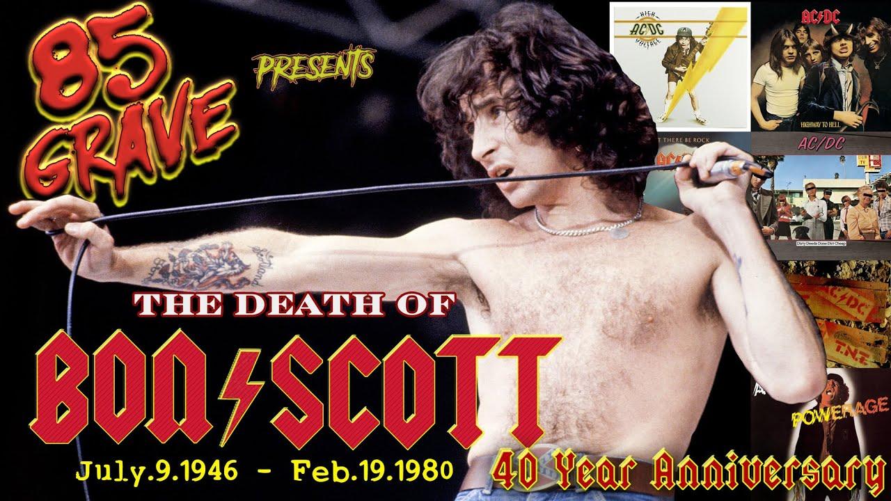 The Death Of Bon Scott, includes 2020 Death Location Visit. 85 Grave Show.  AC/DC Richard Ramirez