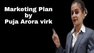 Marketing plan by Puja Arora Virk in Ludhiana seminar...