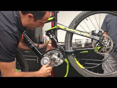 Servicing a Bosch Gen 2 Centerdrive Electric Bike Motor - Inside of a Bosch Mid-Drive