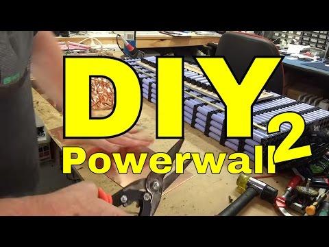 30 kWh Powerwall2 build begins Tesla Powerwall 2 killer !