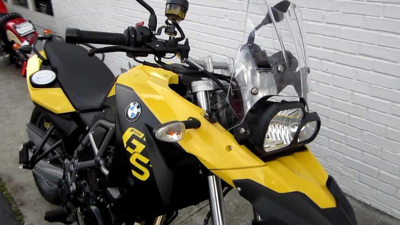 2012 bmw f650gs yellow at pandora u0026 39 s motorsports