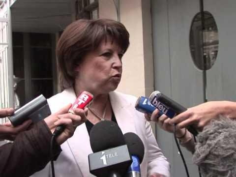 """DSK: Aubry """"totalement stupéfaite"""""""