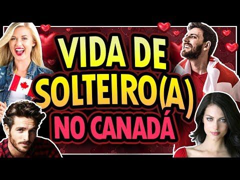 VIDA DE SOLTEIRO NO CANADÁ - COMO É NAMORAR COM UM CANADENSE?