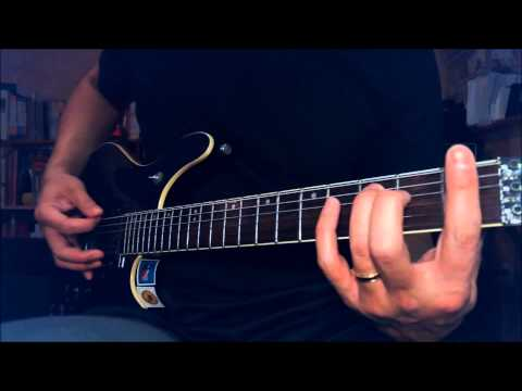 Judas Priest - Pain and Pleasure guitar lesson (FULL SONG) - Revised mp3