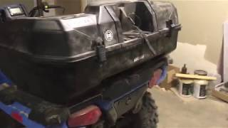 Kimpex Nomad ATV trunk on 2018 Sportsman 450