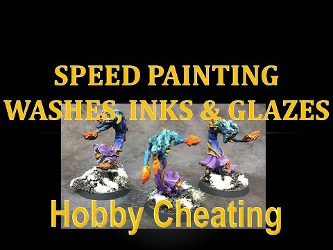 Hobby Cheating 74 - Speed Painting with Washes, Shades & Inks