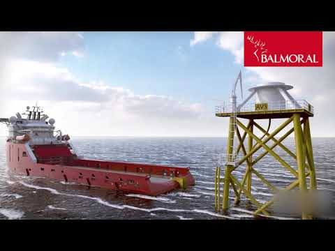Balmoral offshore wind turbine cable protection systems
