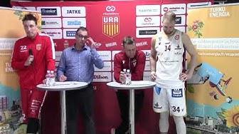 Turku Energia-lehdistötilaisuus Ura Basket eGameStars vs. Korihait 7.3.2020