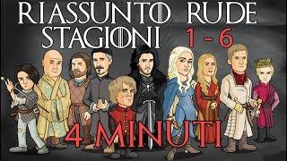 6 STAGIONI DEL TRONO DI SPADE IN 4 MINUTI (RIASSUNTO BRUTALE) thumbnail
