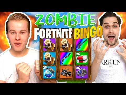 Zombie Fortnite Bingo tegen Roy! 🔥 - Fortnite Mini-Game