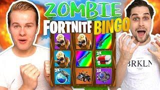 Zombie Fortnite Bingo tegen Roy! 🔥 - Fortnite Mini-Game
