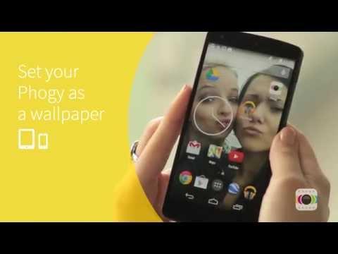Phogy app - create coolest #SELFIE with 3d effect