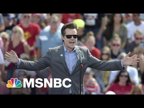 Rep. Gaetz Said To Have Sought Blanket Pardon From Trump WH | Morning Joe | MSNBC