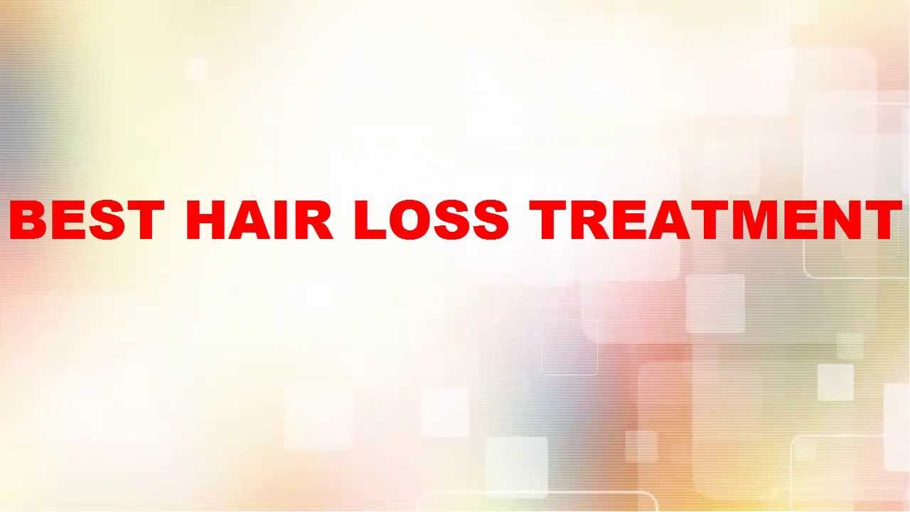 Best Hair Loss Treatment For Men and Women  YouTube
