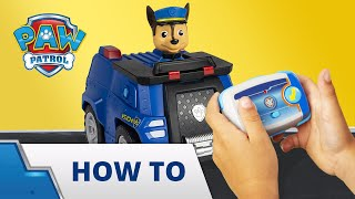 PAW Patrol | PAW Patrol RC | How To Play | PAW Patrol Official & Friends