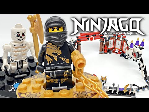 Classic LEGO Ninjago Battle Arena Review! 2011 Set 2520!
