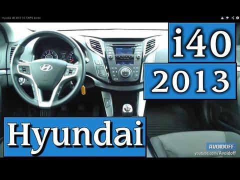 Hyundai i40 2013 1.6 135PS kombi