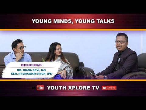 Kh.Diana,IAS & Ravikumar Ksh, IPS || Special Talk Show