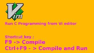 إنشاء shotcut الرئيسية في همة لتشغيل برنامج C. (اللغة الإنجليزية)