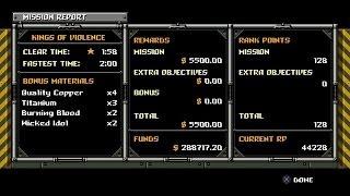 PS4 Mercenary Kings ~ Kings of Violence Speed Runner Guide - Solo