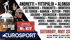 🔴The Race All-Star Series ft. Andretti, Fittipaldi & fellow F1, Indy, NASCAR Legends! | EUROSPORT
