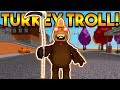 Lagu THE EVIL TURKEY TROLL!  ROBLOX: Super Power Training Simulator
