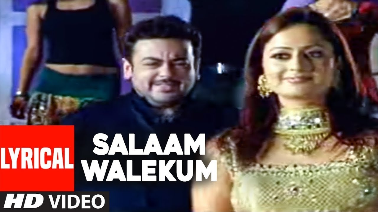"Salaam Walekum Lyrical Video Song | Adnan Sami | Super Hit Hindi Album ""Kisi Din"""