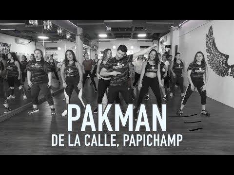 Pakman - De la Calle ft Papichamp by Cesar James Zumba Cardio Extremo Cancun