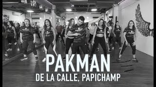 Pakman - De la Calle ft Papichamp by Cesar James Zumba Cardio Extremo Cancun