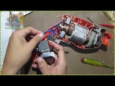 Cómo detectar avería en el switch gatillo de un taladro (control de velocidad)