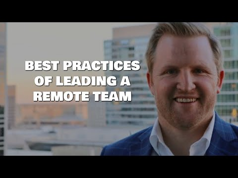 How to Effectively Lead a Remote Team