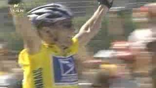 Lance Armstrong Tour De France Best Synthetic Finish Ever