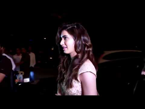 Bollywood Hot: Karishma Tanna's Hot Underboob Show At Diwali Party 2016 thumbnail