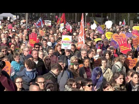 afpde: Tausende Teilnehmer bei Anti-AfD-Demonstration in Berlin