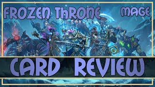 Hearthstone: Knights of the Frozen Throne review (mage cards)