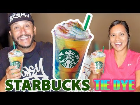 ODM - Trying The New Tie Dye Frappe From Starbucks (Storytime)