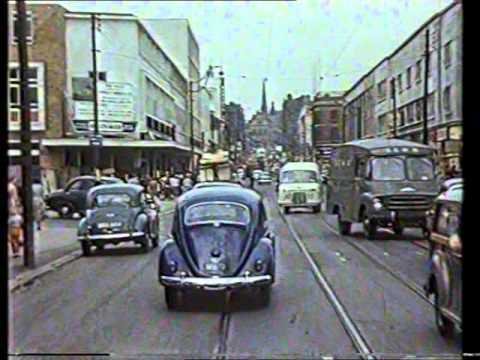 Old Sheffield Tram Footage - STD The Changing scene