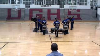HML DRUMLINE 2012 COMPETITION