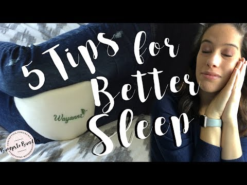 How To: Sleep better when pregnant 5 TIPS!