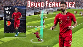 Review Featured Player AMF 97 Rating BRUNO FERNANDEZ - Pes 2020 Mobile