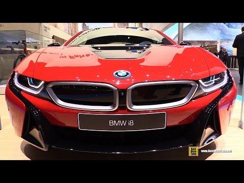 2016 BMW i8 Protonic Red Edition - Exterior and Interior Walkaround - 2016 Geneva Motor Show