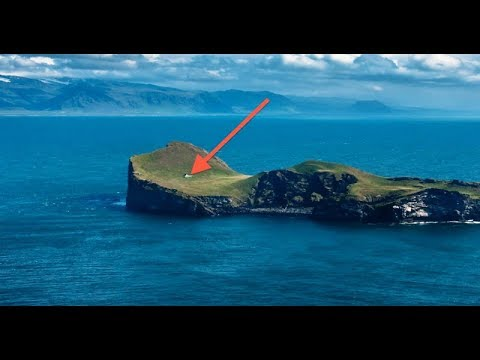 Ellidaey Island Is Home To The Lonliest House In The World