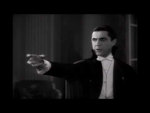 Van Helsing and Dracula (1931 version with music)