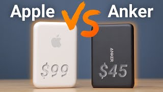 Apple MagSafe Battery Pack VS Anker PowerCore Magnetic! Twice as Good?