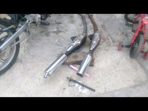Change Exhaust Cutting Stopper Modenas Dinamik