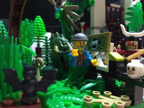 LEGO УЖАСЫ,  ДОМ ШАМАНА!!!  Самоделки из Лего