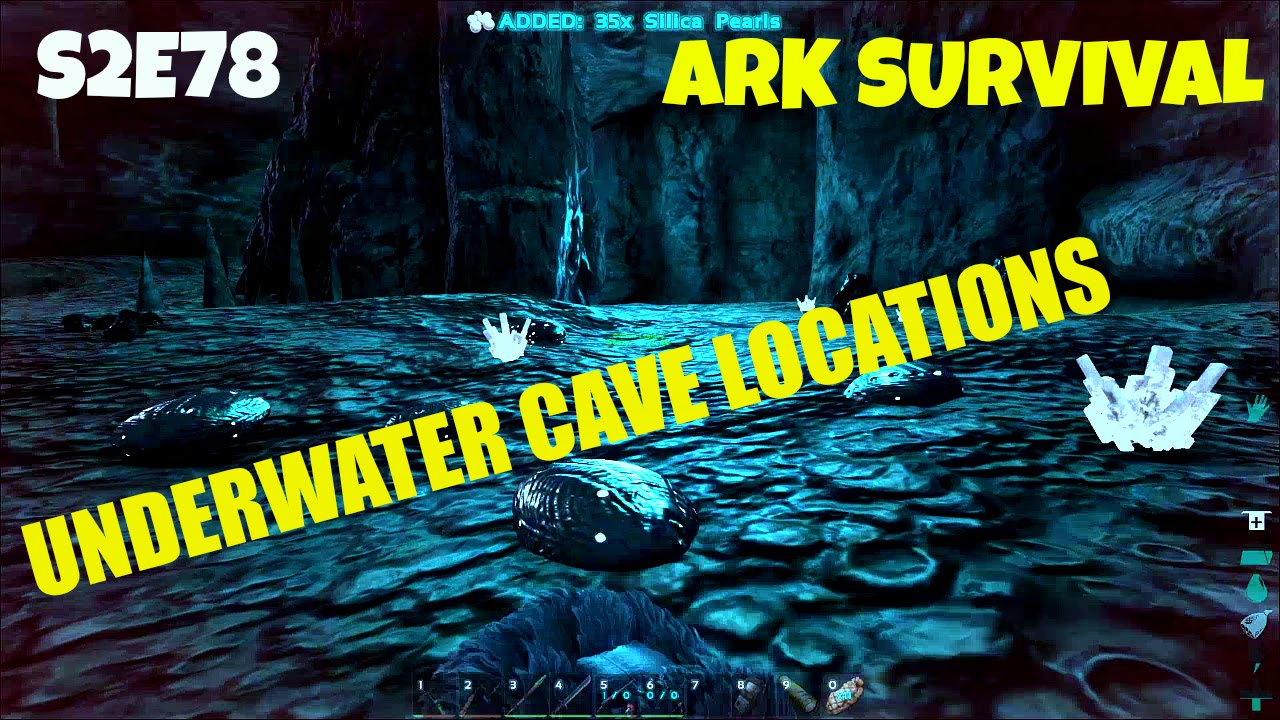 Underwater Cave Locations | How to Find Them | (E78) ARK: Survival Evolved