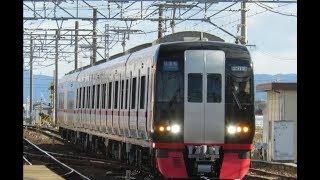 [試運転] 名鉄2200系 2212F 新安城 往復路 走行シーン2本立て! (警笛付き)
