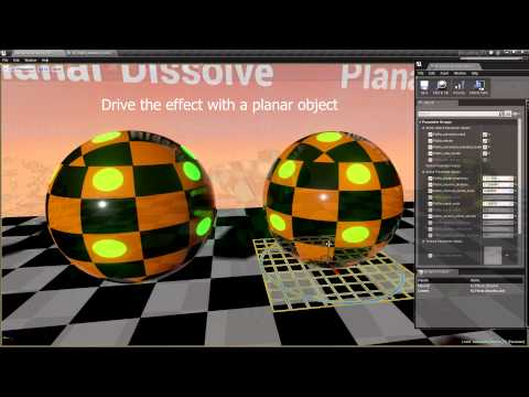 Advanced Dissolve FX for Unreal Engine