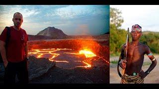Африканская жесть или как выжить в диком племени и не сгореть на краторе вулкана